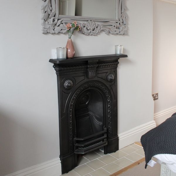 Victorian Bedroom Fireplace Smaller With No Big Surround Before