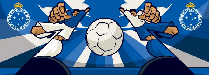 Arte para caneca - Cruzeiro