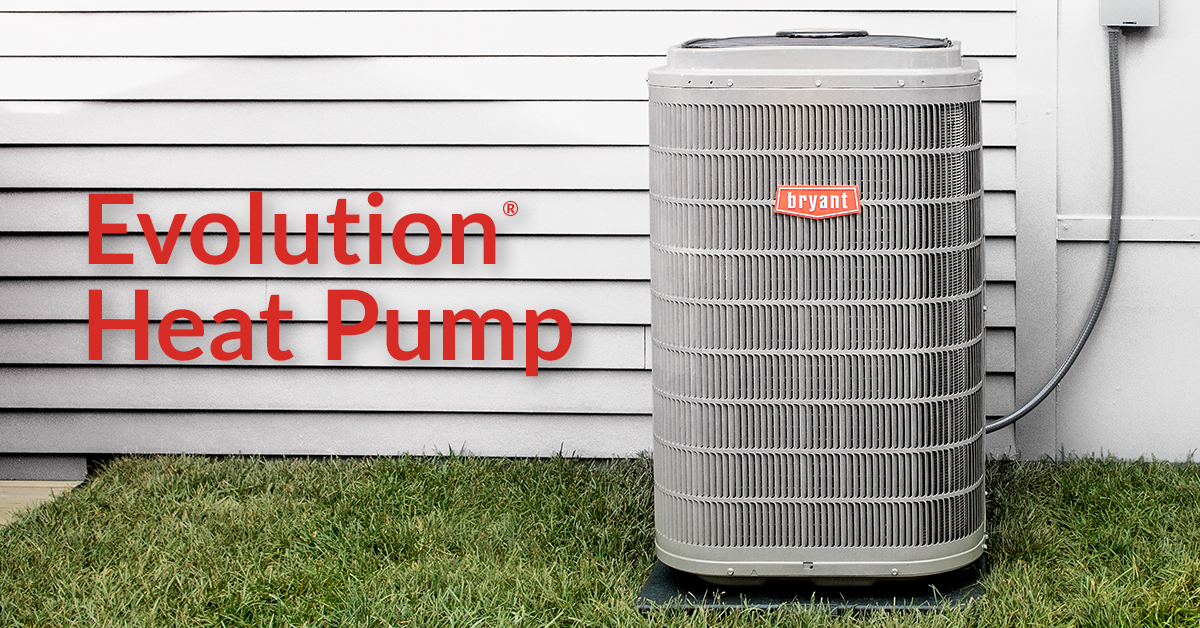 Heat Pumps Bryant Keep Your Family Comfortable This Winter With An Evolution Heat Pump Call Us For Details Heat Pump Thermostat Cover Heating And Cooling