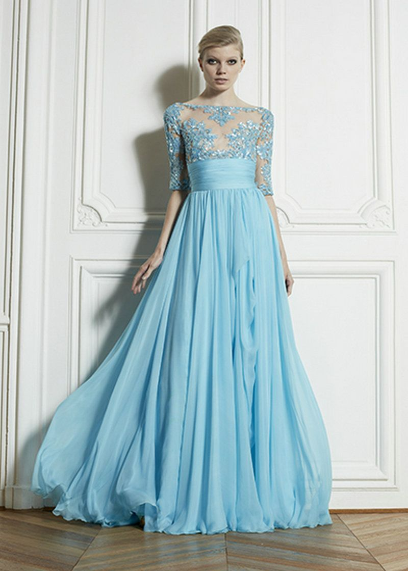 New Lady Long Chiffon Bridesmaid Evening Formal Party Ball Gown Prom ...