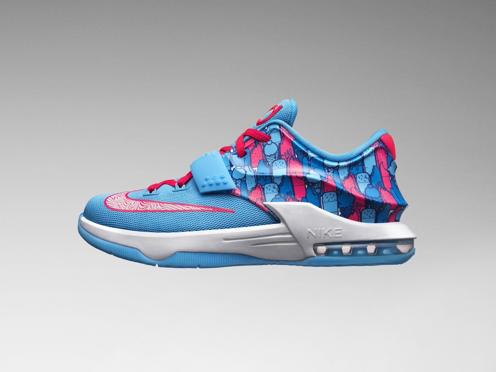 79e26934a1a37 Nike News - Chillin  With KD  The KD7 Frozens Shoe Arrives Just In Time For  Summer Fun