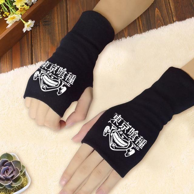 Photo of Anime Cosplay Semi-Finger Gloves – 17