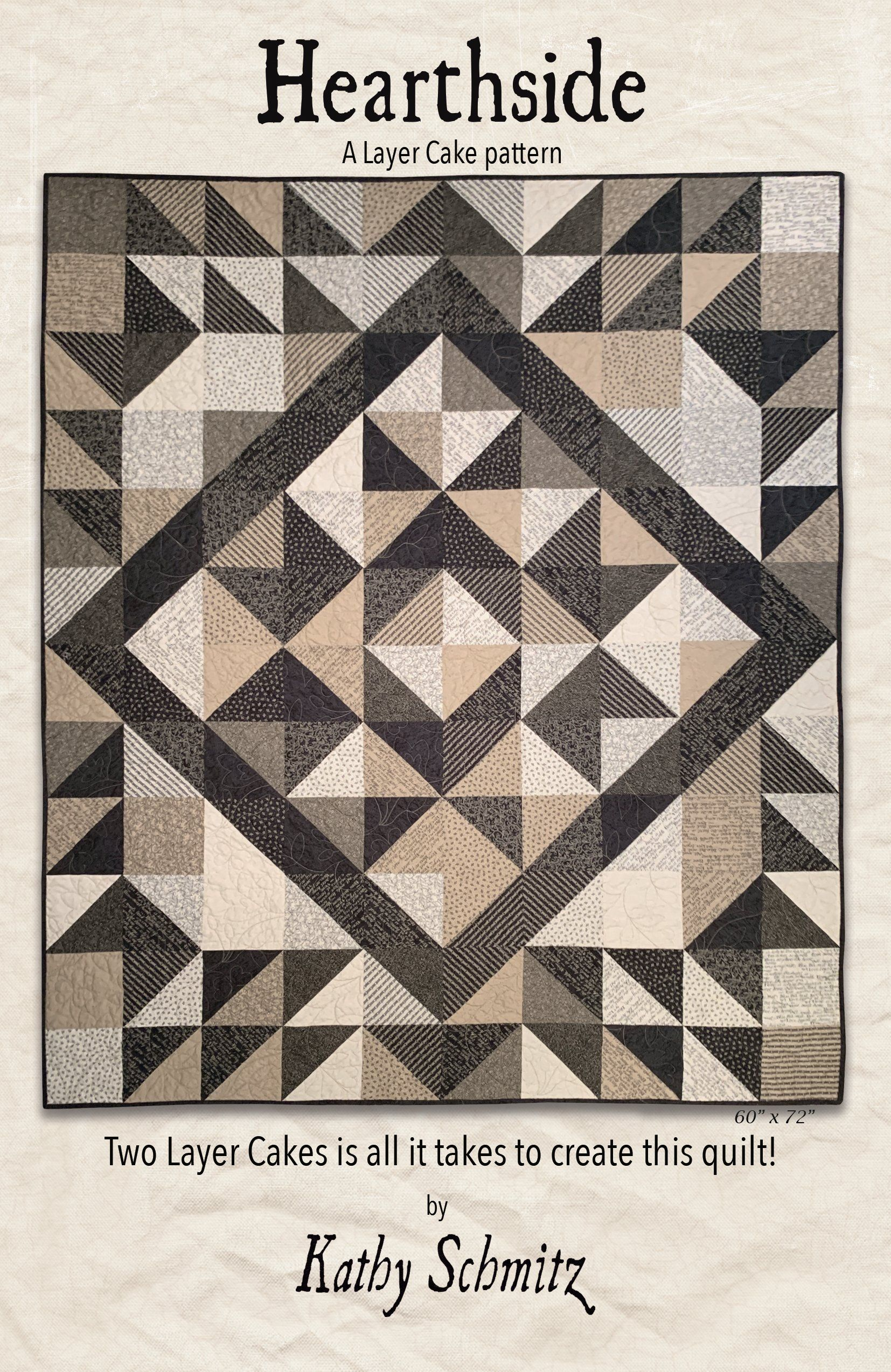 Hearthside Quilt pattern