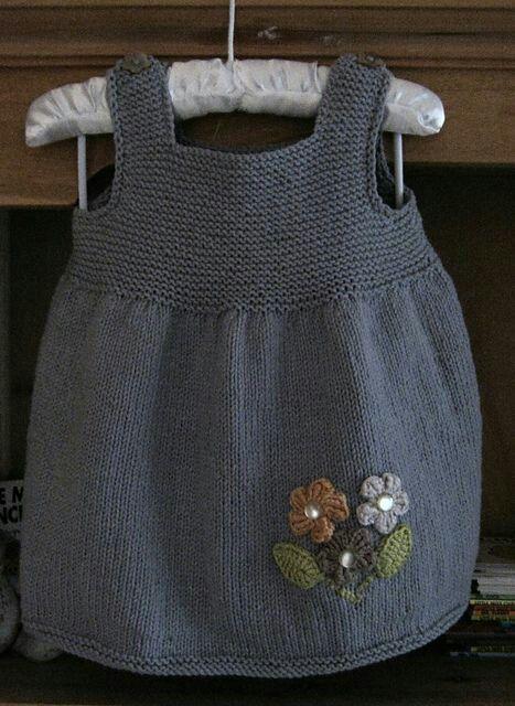 Photo of Made with Easy Zierblume Vergoldete Kinderweste. 2, 3 Jahre alt #stricken baby K…