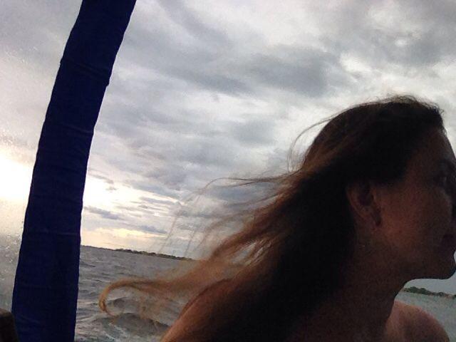 Barca para Ilha do Mel. Paraná.