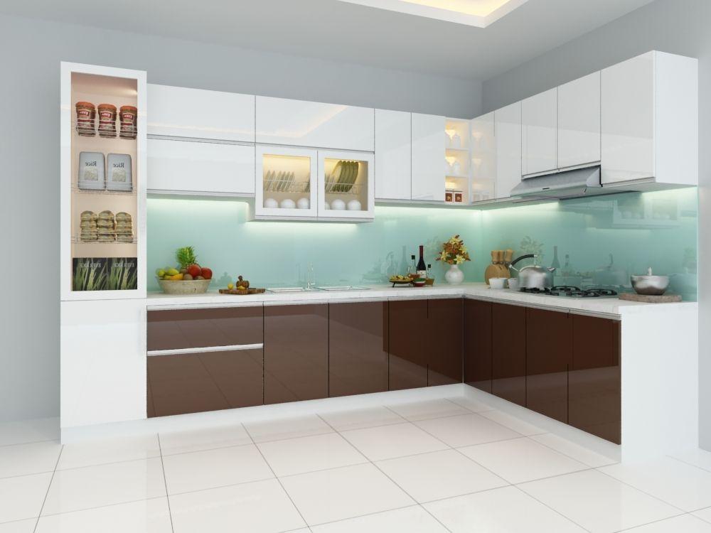 Tủ Bếp Gỗ Acrylic Đẹp Quận Thủ Đức   Tủ bếp, Bếp, Ý tưởng cho bếp
