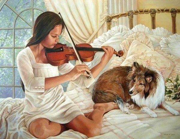 Michelle M. Gladish art