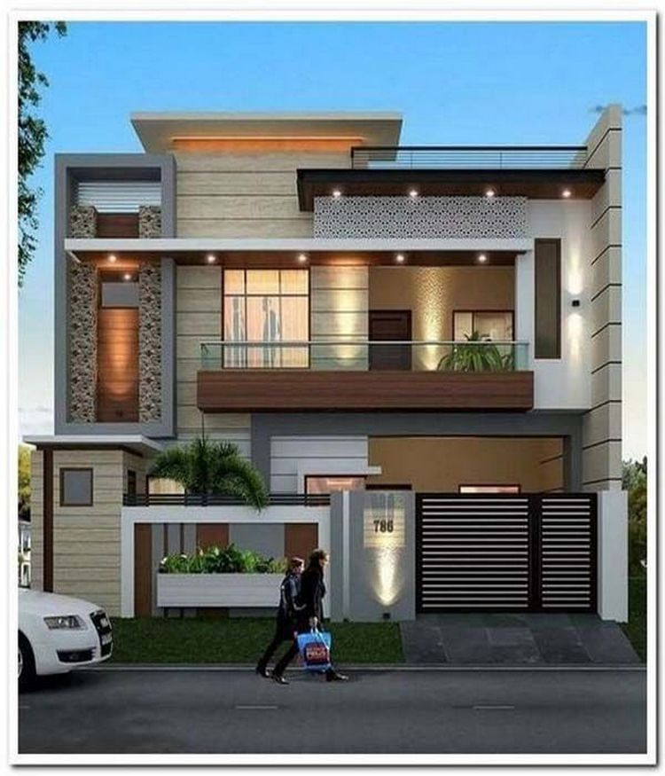 Beautiful Modern Home Exterior Design Trendecors