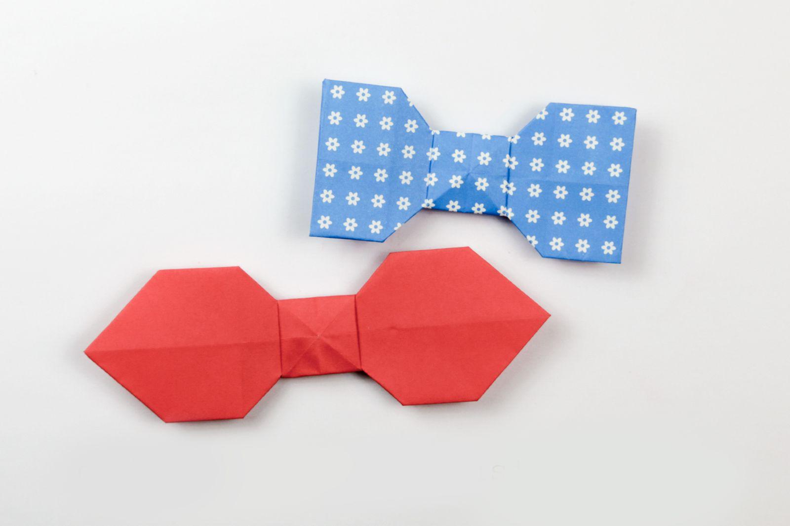 Photo of Origami Bow Tie Photo Tutorial – Paper Kawaii