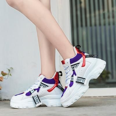 4b512af3911 ADBOOV New Fall Winter Fashion Women Shoes PU Leather Platform Sneaker -  chicmaxonline