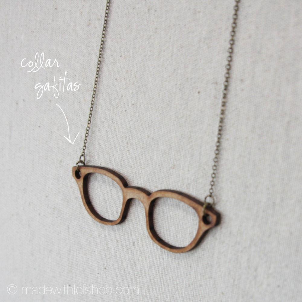 Collar Madera - Gafitas | madewithlofshop