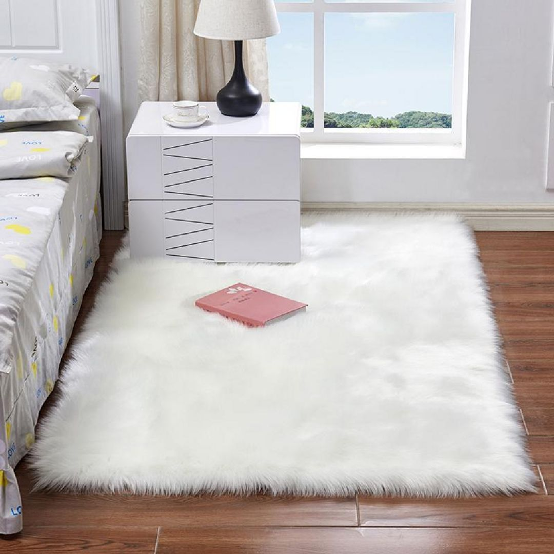 10 Best Tricks For Realizing Korean Dream Room Decorations White Faux Fur Rug Rugs In Living Room Rugs On Carpet