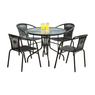SunTime Outdoor Living Bambi 5 Piece Dining Set | H furniture to buy ...