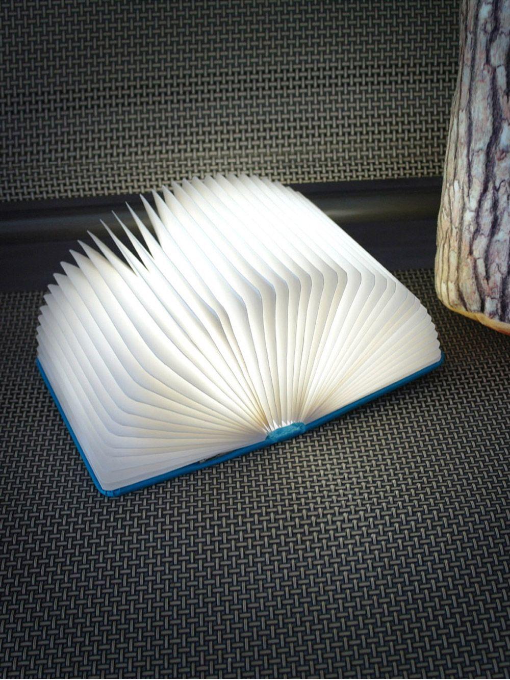 [아이디어펀] 펼치면 빛이나는 책모양 무드조명