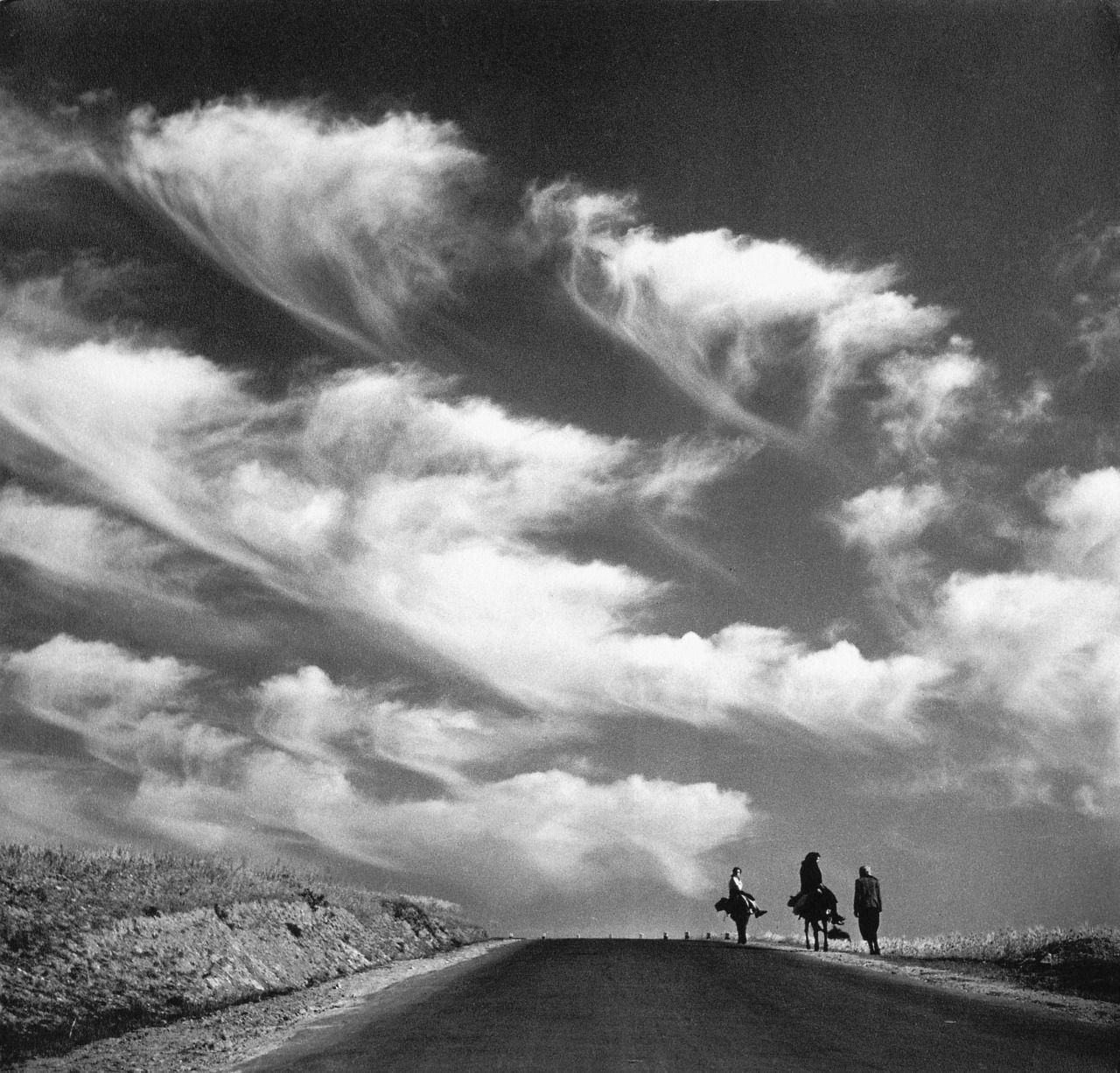 "casadabiqueira: "" A caminho [On their way] Adelino Lyon de Castro, 1950 """