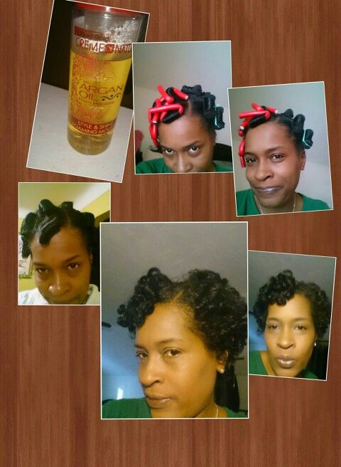 Rollerset on naturalhair