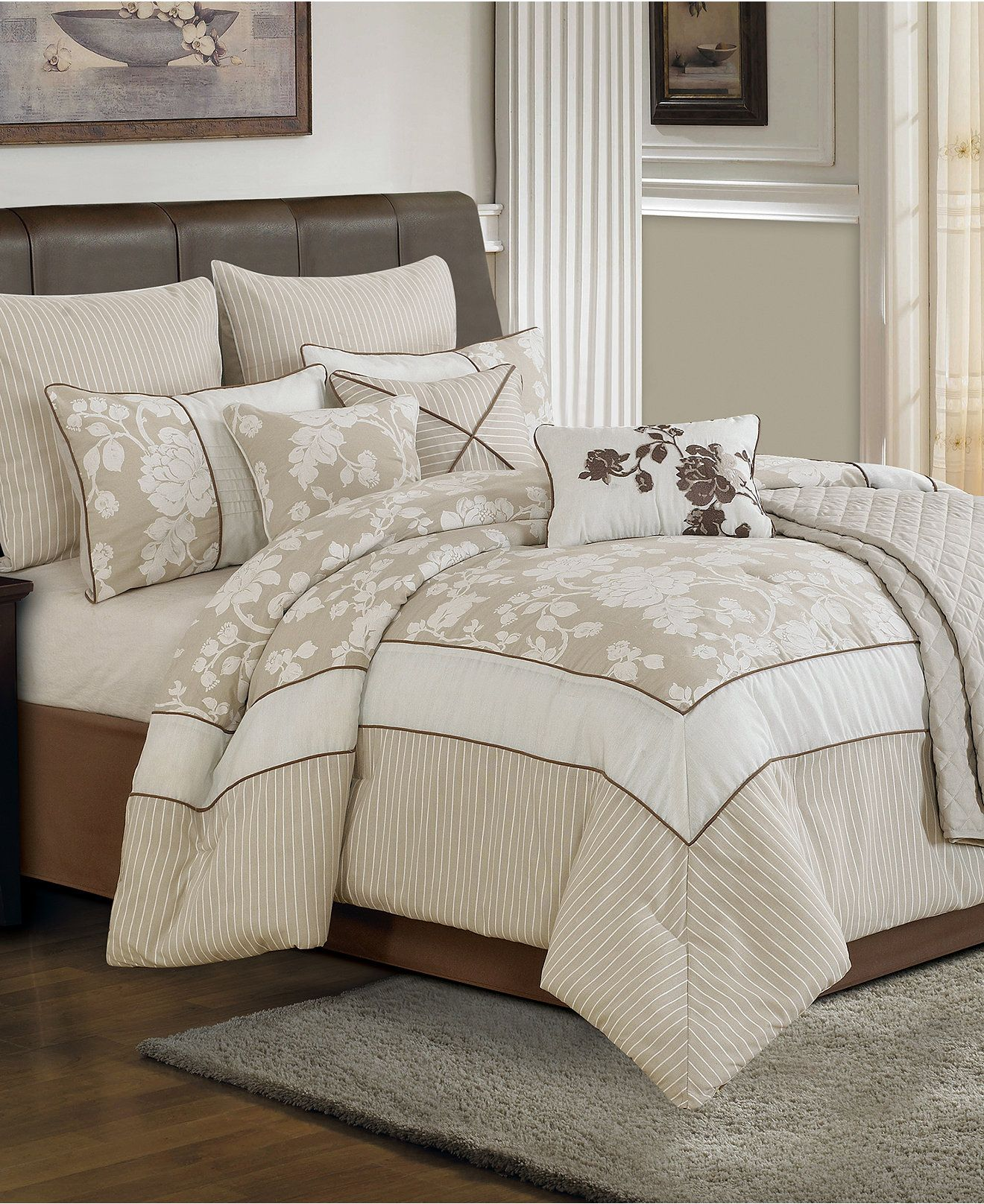 Cream Beige And Brown Color Scheme For Bedroom Lara 10