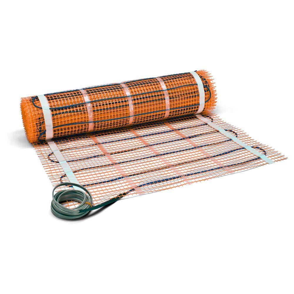 Suntouch Floor Warming 36 Ft X 30 In 240 Volt Radiant Floor Heating Mat Covers 90 Sq Ft 24003630r Radiant Floor Radiant Floor Heating Heated Floors