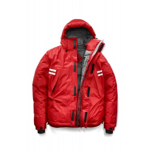 Doudoune Canada Goose Homme 2017 18 Veste Hiver Canada Goose Homme  Mountaineer Jacket Rouge Prix 75a411ff1732