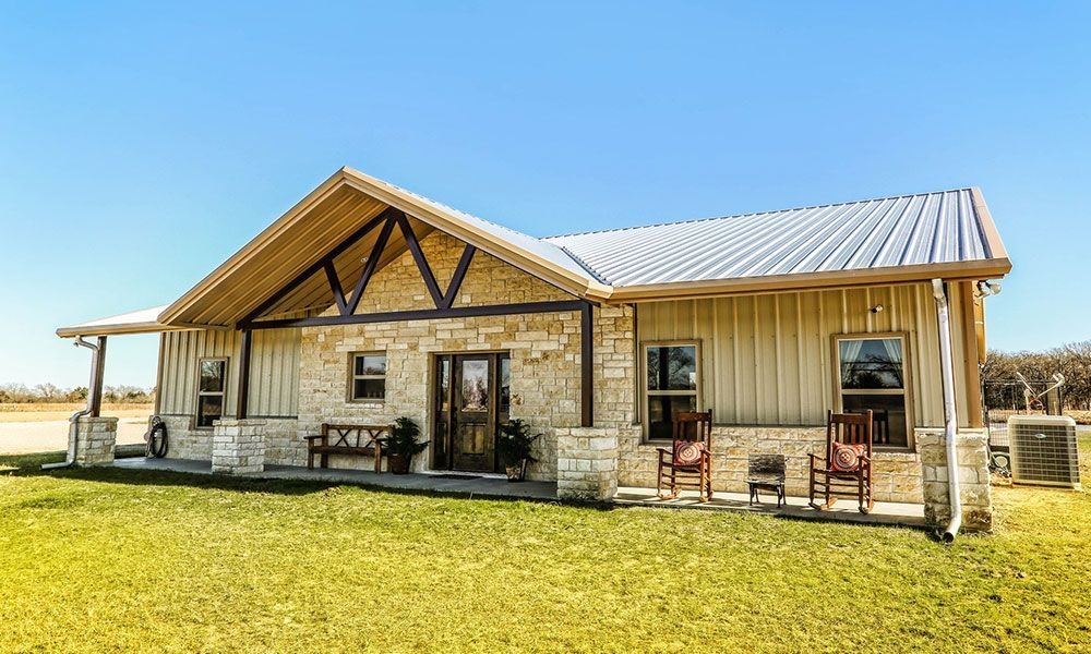 The Rustic Residence You Will Always Want To Come Home To Barn Style House Plans Barn Style House Barn House Plans