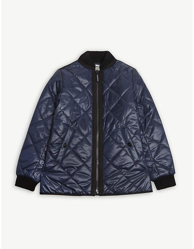 be1ab836b5bf9 Quilted bomber jacket 4-14 years  collar cuffs bomber. Find this Pin and  more on Kids ...