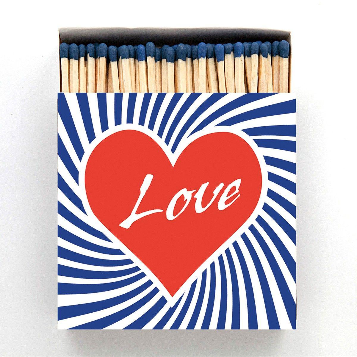 Boîte d'allumettes Brasso Love