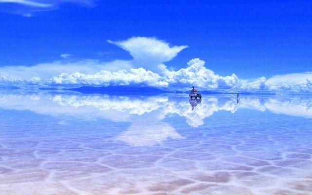 Salt-flat Turns As Mirror | KoKonw
