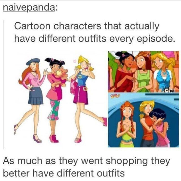 Totally Spies, Tumblr Funny, Dumb