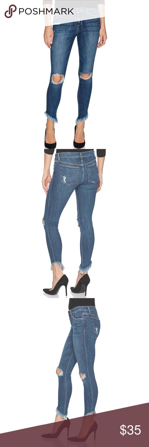Joes Jeans Womens Diagonal Hem Icon Midrise Skinny Ankle Jean