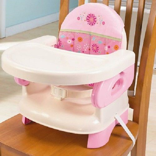 Folding Infant Booster Seat High Chair Baby Feed Travel Portable Comfort Compact