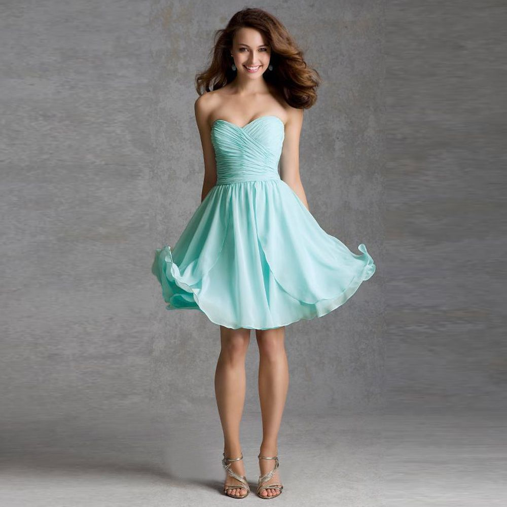 Click to buy cheap 2017 light blue junior bridesmaid dresses click to buy cheap 2017 light blue junior bridesmaid dresses knee length ombrellifo Gallery