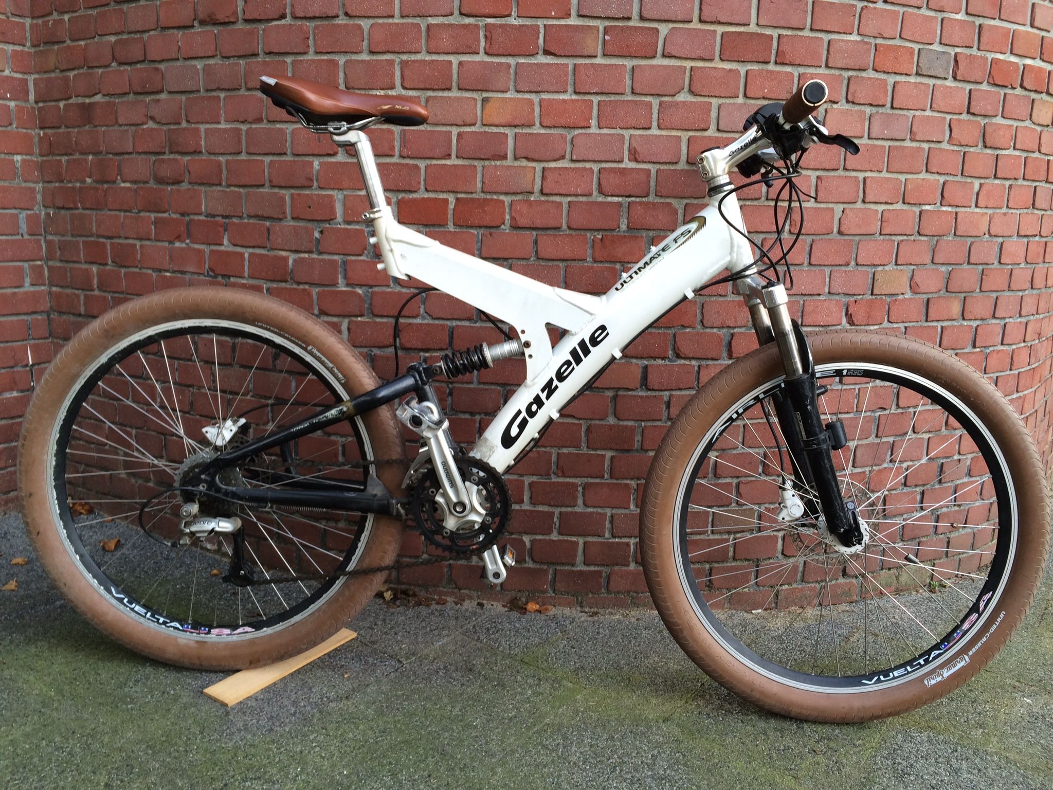 ef778b3831f gazelle Y frame mountainbike | Bicycles