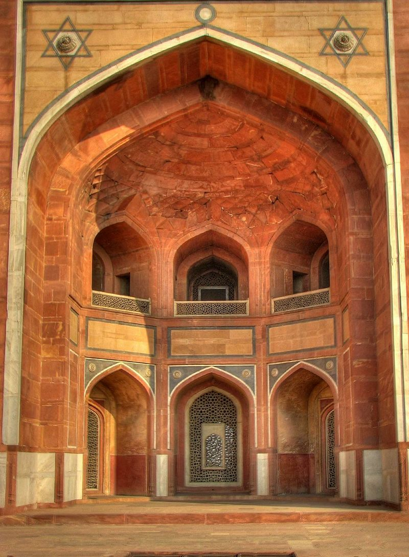 Details of the arch on the exterior of Humayun's Tomb, Delhi - Humayun's  Tomb - Wikipedia | Mughal architecture, Humayun's tomb, Tomb