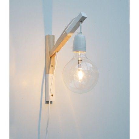 Lampara De Pared Vikim White Aplique Mural Applique Murale Enfant Lamp Enfant Deco Wall Sconce Lamparas De Pared Luces De Madera Lampara De Pared