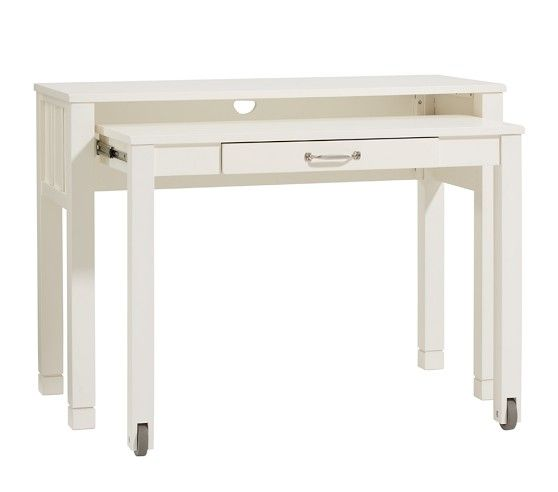 Camp Pull Out Desk Pottery Barn Kids 42 5w 240 Salty