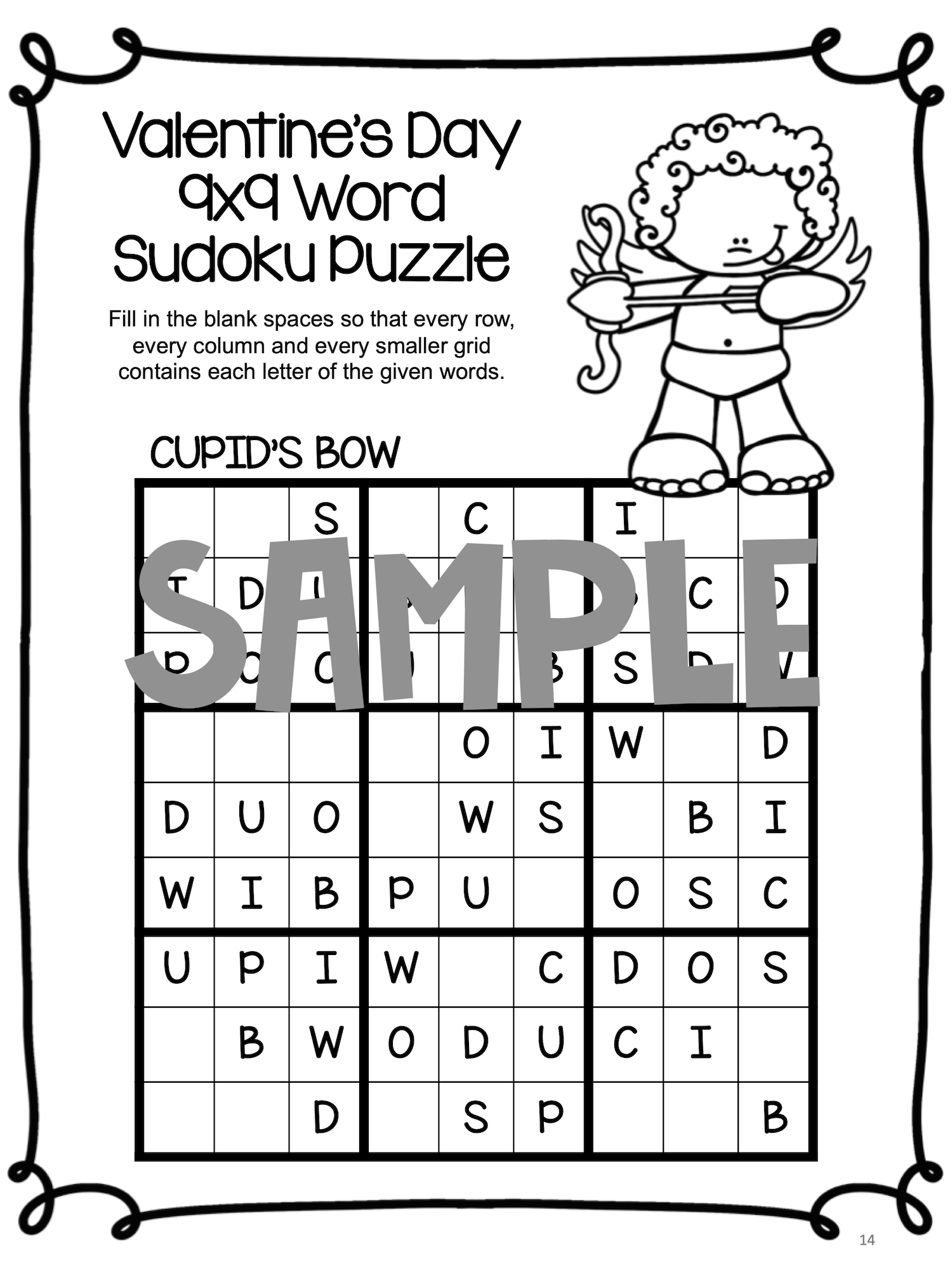 Valentine S Day Worksheets In