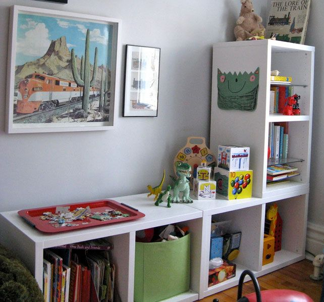 organizar un dormitorio infantil | on guardar joguines | pinterest