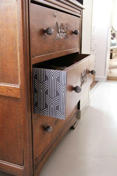 le d tail des tranches des tiroirs peut donner un plus. Black Bedroom Furniture Sets. Home Design Ideas