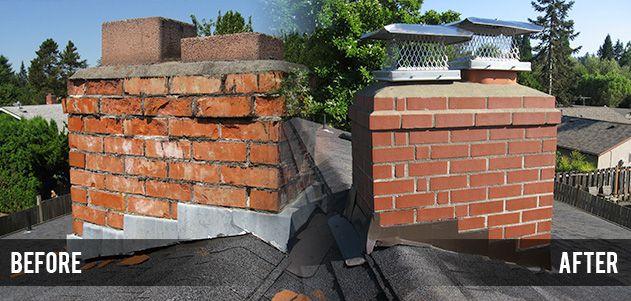CHIMNEY REPAIR IN TRENTON, MICHIGAN   Build a fireplace ...