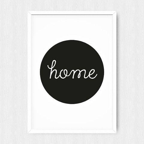 Черно-белые постеры · Stampsy | Идеи для дома в 2019 г ...