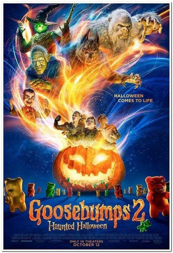 Goosebumps 2: Haunted Halloween - 2020 GOOSEBUMPS 2: HAUNTED HALLOWEEN 2018 original D/S 27X40   Etsy in