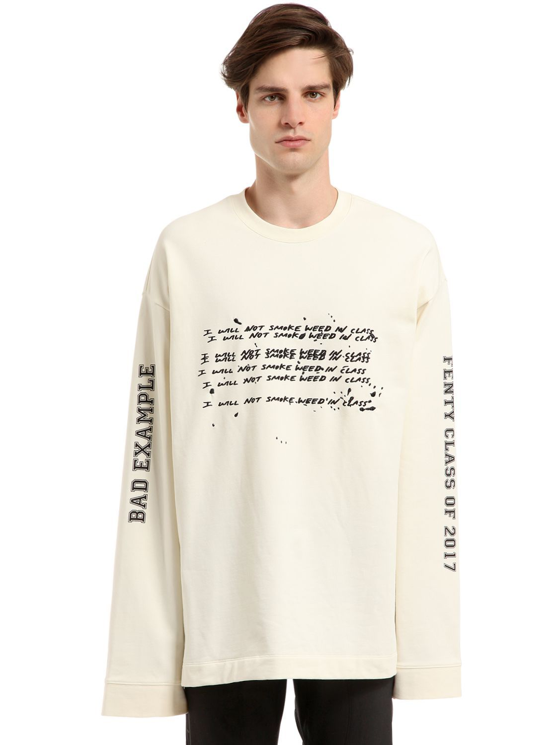 detailed look dd2bc 3976a FENTY X PUMA OVERSIZE PRINTED T-SHIRT. #fentyxpuma #cloth ...