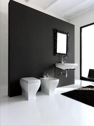 La collection de sanitaires de salle de bain JAZZ by Artceram offre - lavabo retro salle de bain