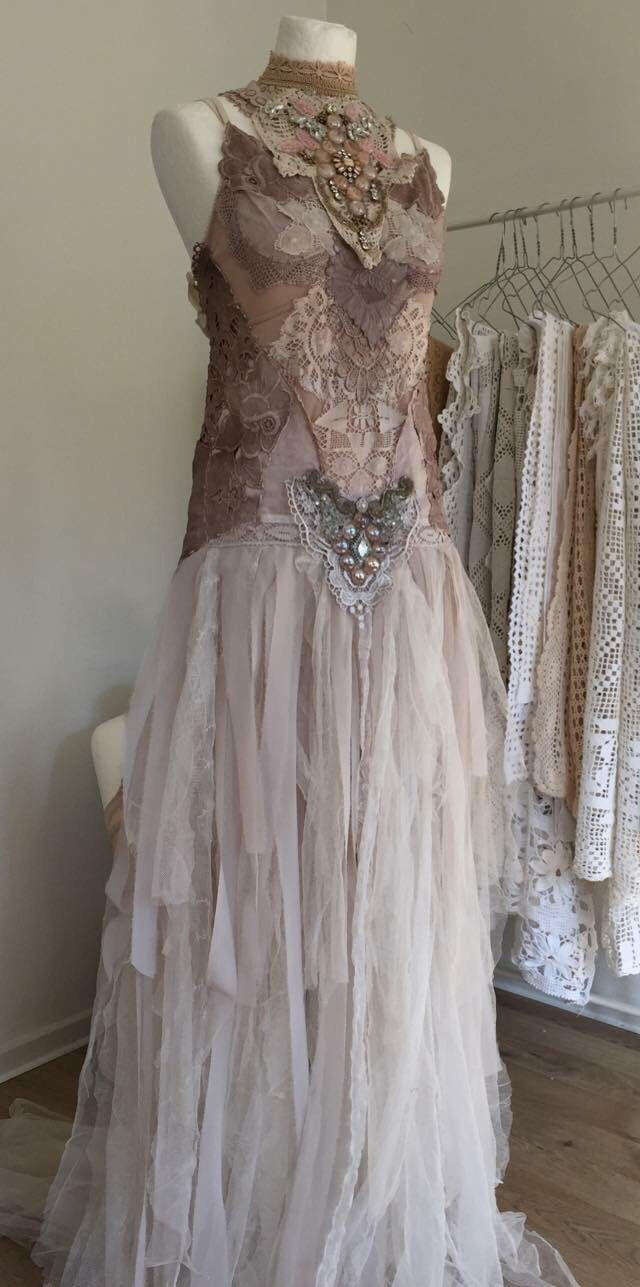 Custom made alternative wedding dressfairy wedding dressbeautiful