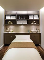 I love this lay out for a small treatment room mine is for Beauty treatment room decor ideas