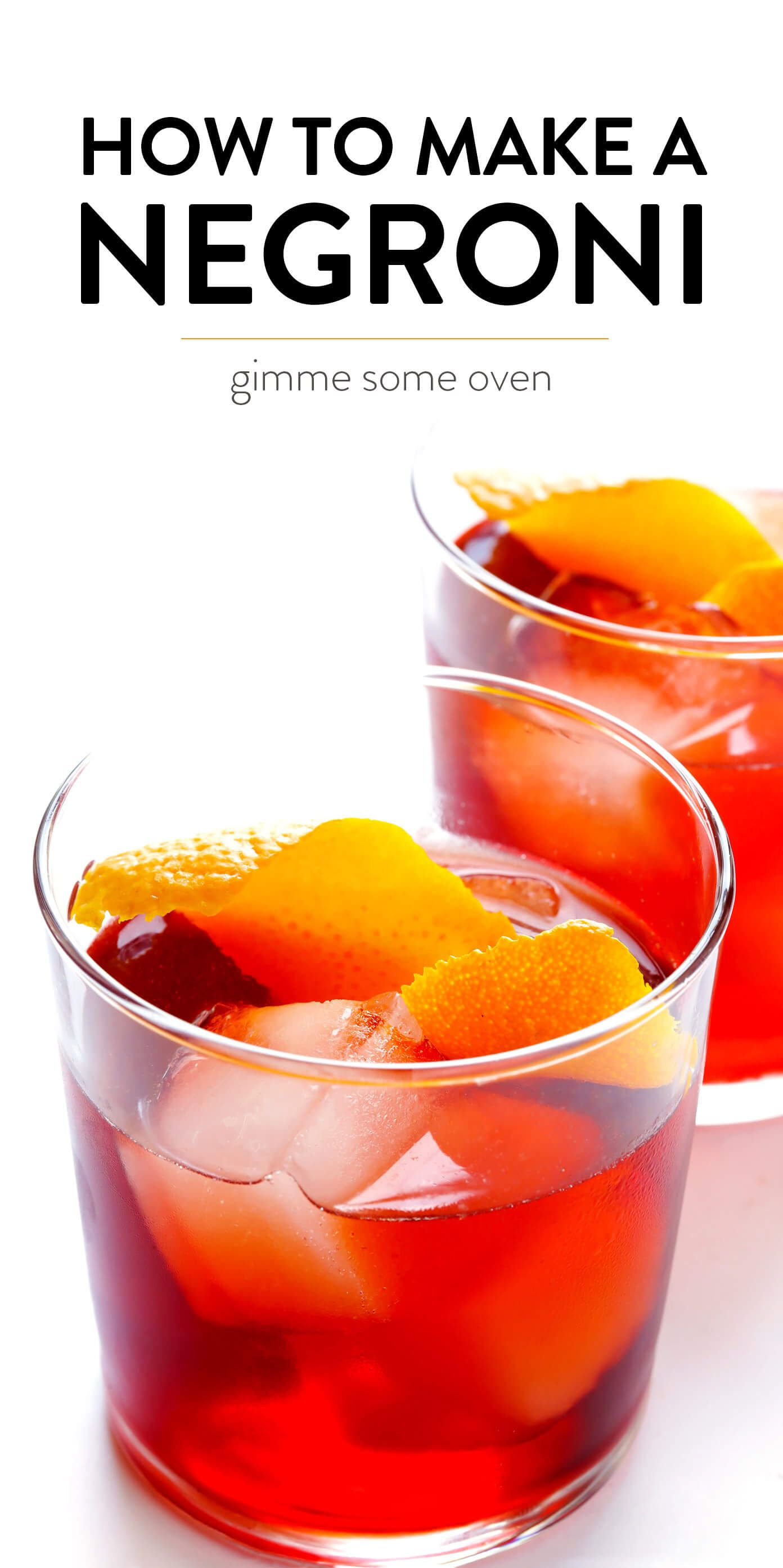 Ricetta Negroni Aperol.This Classic Negroni Cocktail Recipe Is Easy To Make With Three Simple Ingredients Campari G Negroni Recipe Classic Cocktail Recipes Classic Negroni Recipe