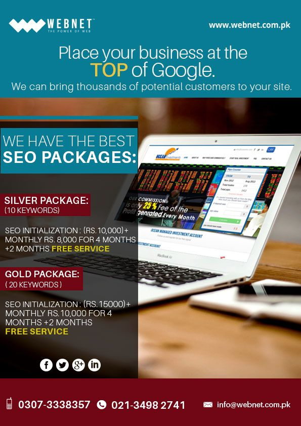 Webnet Is A Web Developmet Company Specialized In Web Development And Web Designing With Cost Effective Google Adver Web Design Google Advertising Seo Packages
