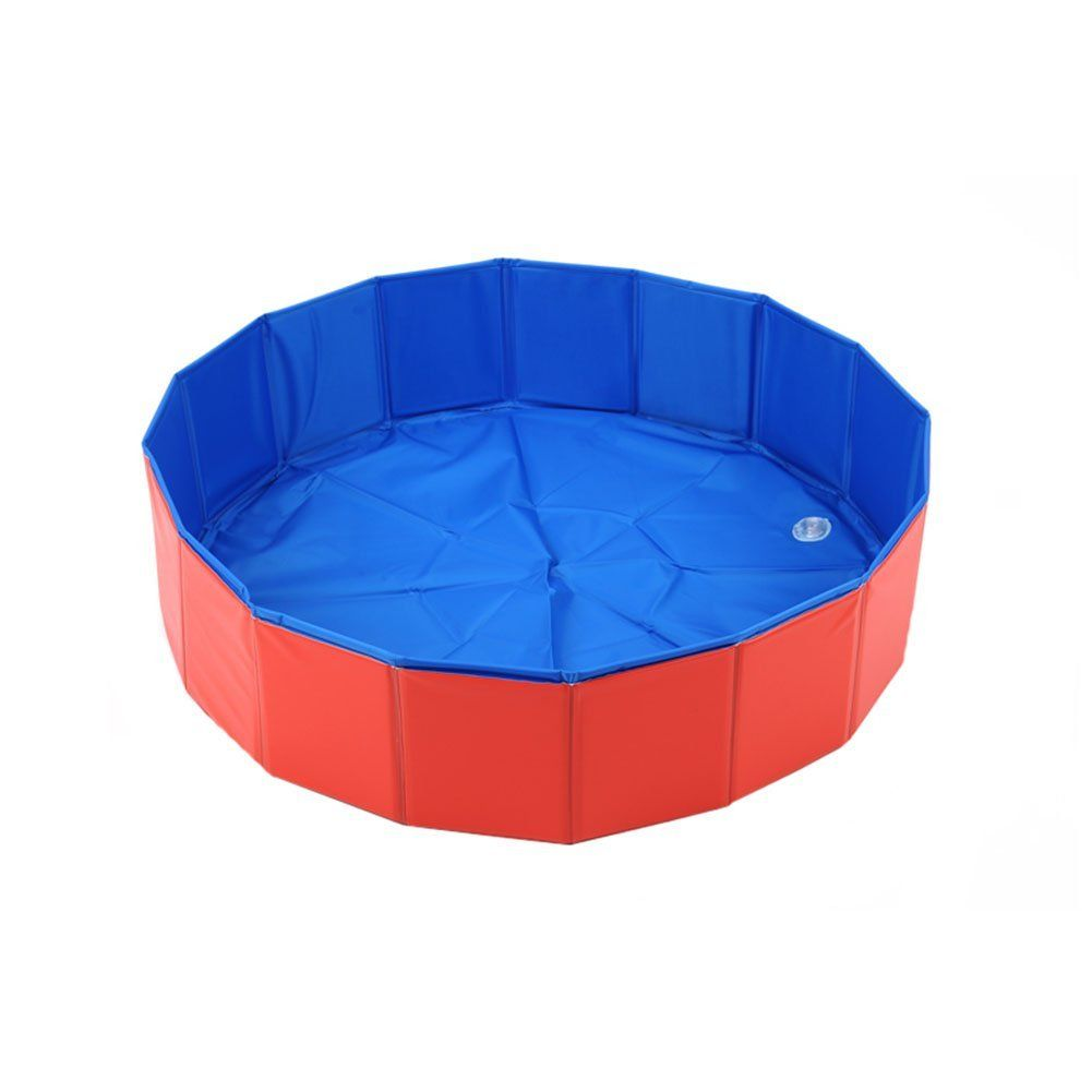 Penates Dog Bathtub Foldable Pet Swimming Pool Pet Shower Tub ...