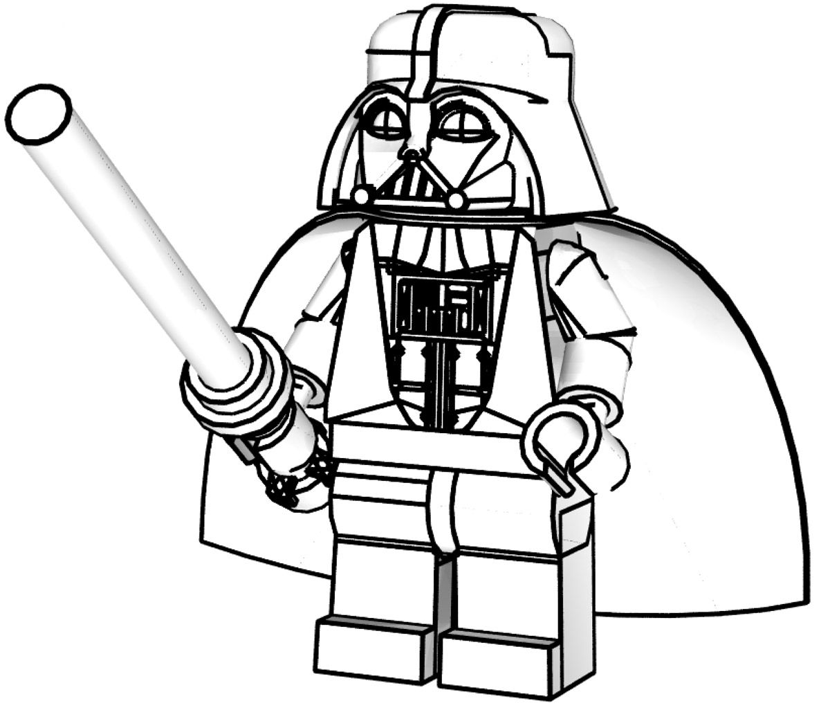 Lego Star Wars Coloring Pages For Kids Printable | Coloring pages ...