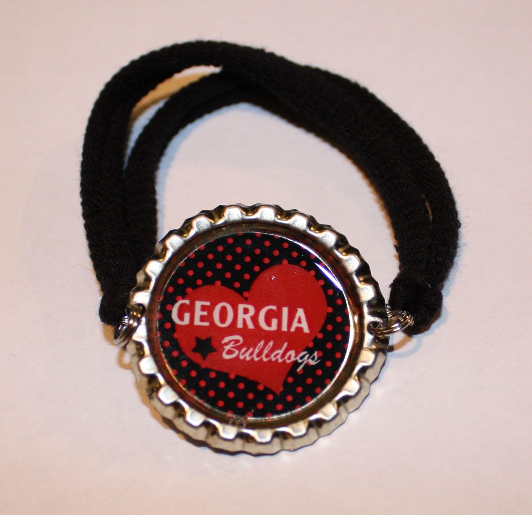 bottle cap bracelet how to make
